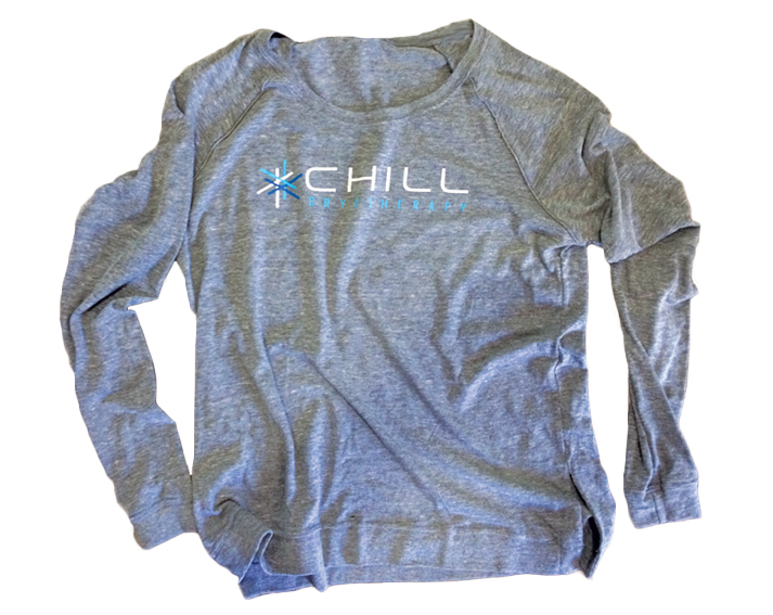 On target design chill cryotherapy for Columbus ohio t shirt printing